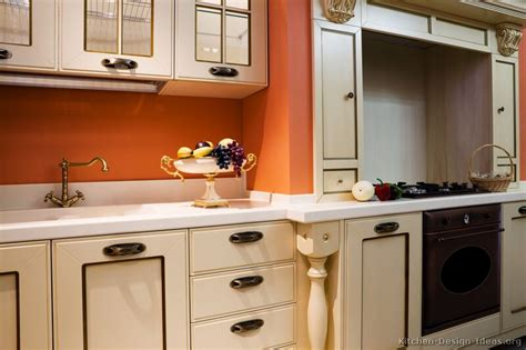Pictures Of Kitchens Traditional White Antique Kitchen Cabinets Page 3