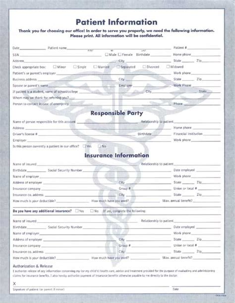 patient information form template clinical data forms welcome patient information