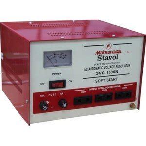 Matsunaga Stavol Stabilizer 1000w by Stavol Matsunaga 1000va Blossom Toko Komputer Malang