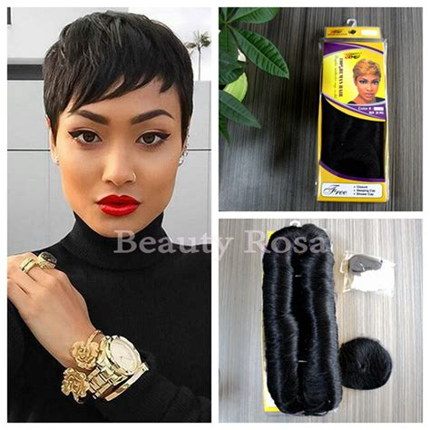 hair pieces to wear with fo hawk hairstyle aliexpress com buy hot sale cheap human short hair