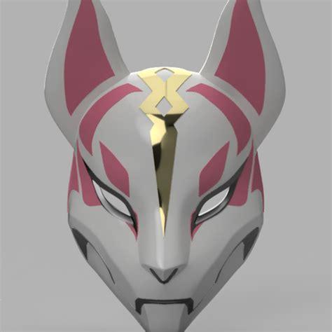 modelos 3d máscara de deriva fortnite ・ cults