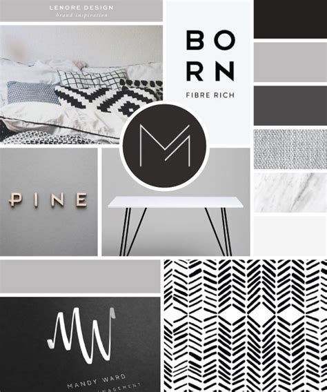 layout design logo brand launch lenore interior design salted ink design co