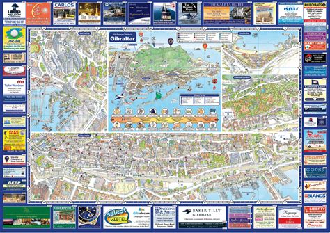 printable street map gibraltar map services