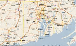 us map ri rhode island map