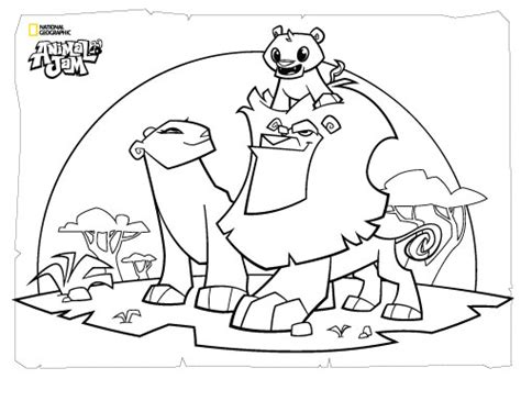 coloring pages animal jam animal jam coloring pages the daily explorer
