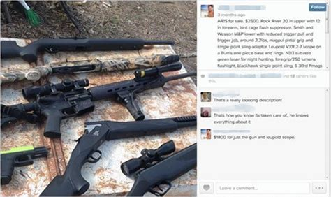 Gun Sale Background Check Instagram Being Used To Facilitate Gun Sales To Without Any Criminal Background