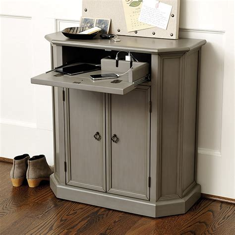 Charging Station Cabinet by Leighton Charging Console Ballard Designs