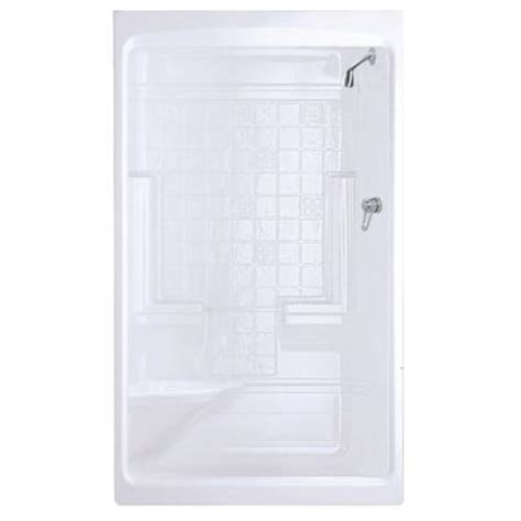 Home Depot Showers With Seat by Maax Montego 35 In X 51 In X 85 In Shower Stall With