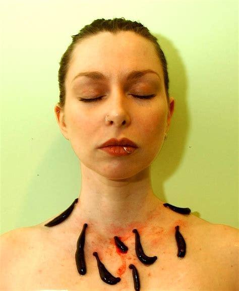 leech facial treatment this spa treatment really sucks detoxification with