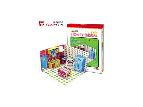 3d Puzzle Honey Room honey room kuchyn茆 3d 65 d 237 lk蟇 puzzleshop cz