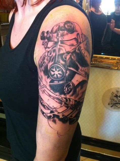 3d tattoo norge fallout 3 almost finished artwork made by lucky 7