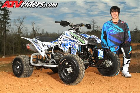 pro motocross racers sean taylor 2013 ama pro atv motocross rookie season preview