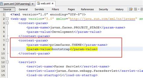 tutorial java primefaces nascent java web application tutorial jsf primefaces 3