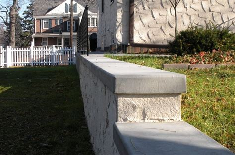Concrete Wall Caps - concrete wall cap forms wall designs