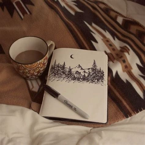 cabin fever a mountain books coffee sketches and sketching on