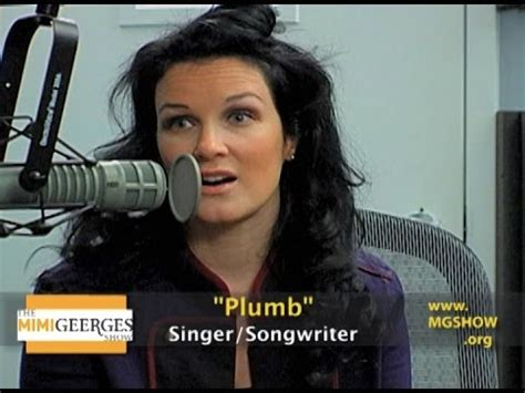 Where Is Plumb Now by Plumb Discusses Quot Need You Now Quot On The Mimi Geerges Show