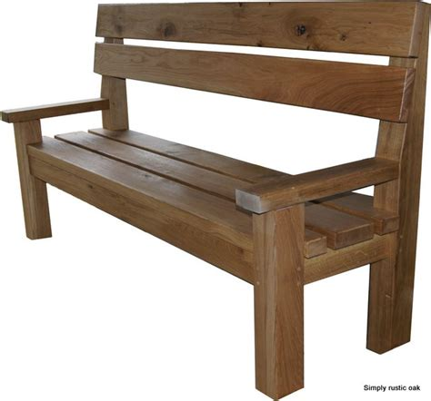 rustic oak dining bench bespoke large rustic oak contemporary dining bench