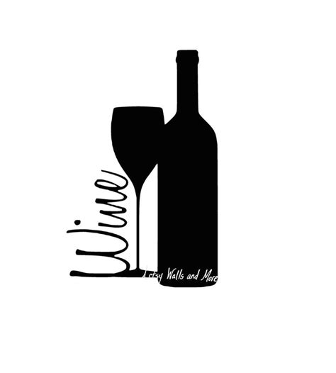 wine silhouette clipart color wine silhouette clipground