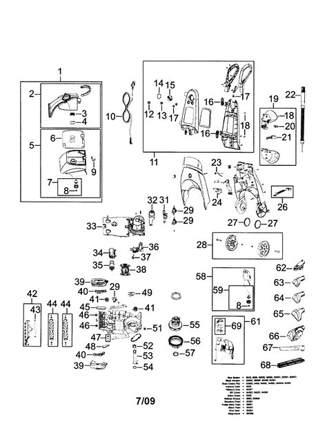 bissell proheat parts diagram bissell proheat 2x parts diagram car interior design