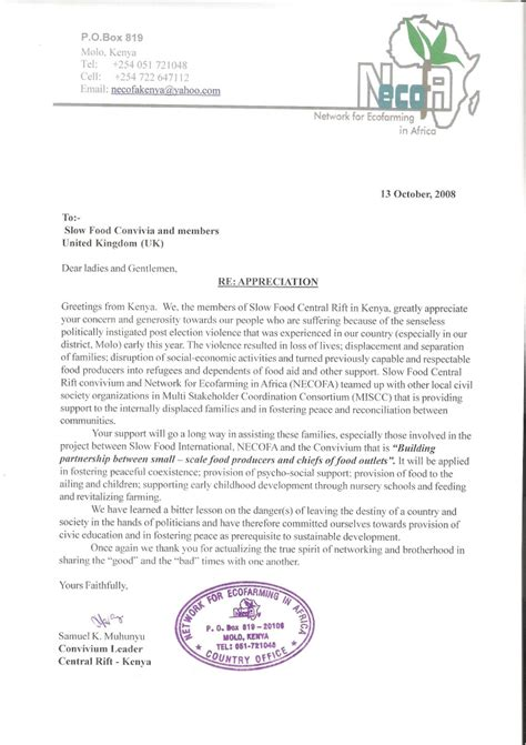 un appreciation letter un appreciation letter 28 images sle letters of