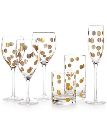 kate spade barware kate spade new york pearl place stem barware collection