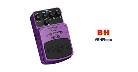 Behringer Bass Overdrive Bod400 behringer bod400 bass overdrive stompbox effect pedal