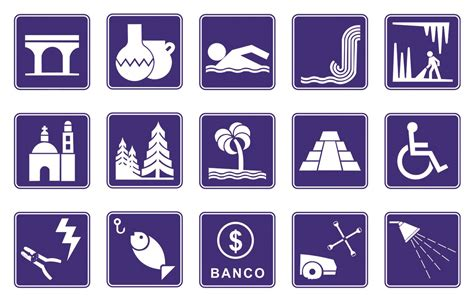 Imagenes De Simbolos Informativos | se 241 alamientos viales en monterrey se 241 alamientos