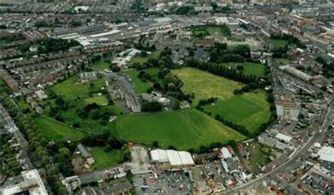 """arial view of the grangegorman complex in 2008"" by"