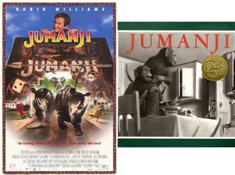 jumanji movie vs book literary hoots 10 movies that were better than the books