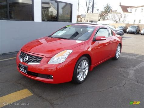 red nissan altima 2009 code red metallic nissan altima 3 5 se coupe
