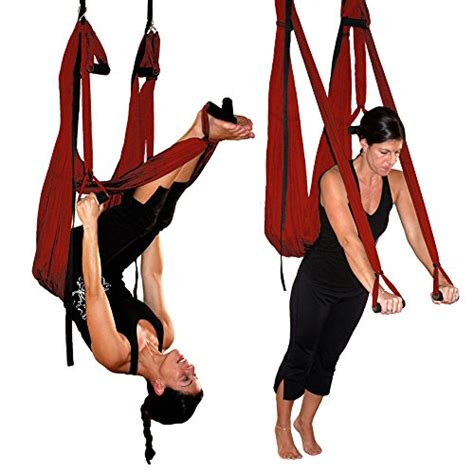 yoga swing canada maroon yoga inversion swing yoga swing dvd by chris