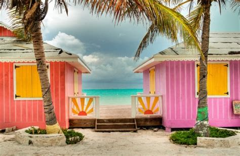 colorful beach houses bright and colorful beach house furniture cottage bungalow