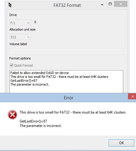 format fat32 error exfat to fat32 smartdisk fat32 format formatter tool
