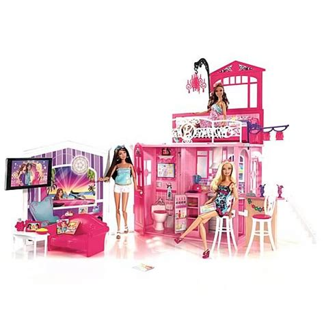 barbie vacation house barbie glam vacation house mattel barbie dolls at entertainment earth