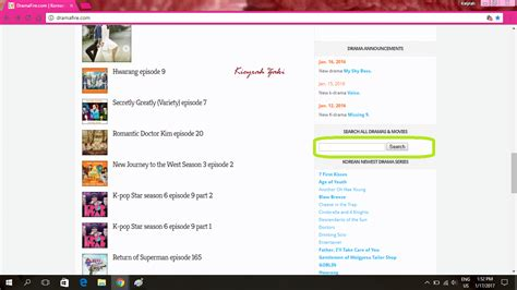 dramafire downloader kieyrah zakirah cara download drama korea