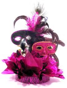 masquerade centerpieces how to make the fabulous feathers sweet 16 masquerade