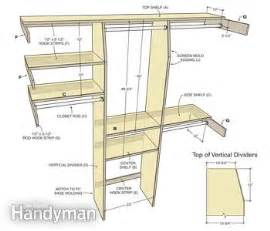 Build Corner Bookcase Closet Organization A Simple Shelf And Rod System