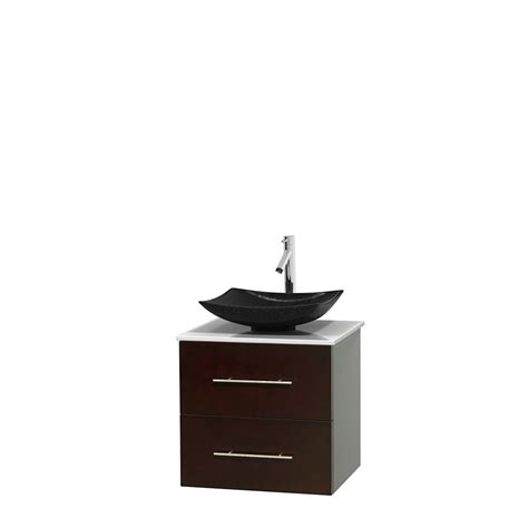 centra 24 in single vanity in white with solid surfacetop wyndham collection wcvw00924seswsgs4mxx centra 24 inch