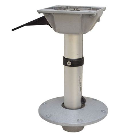 boat seat pedestal post springfield 15 1 2 inch fixed height boat seat pedestal