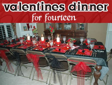 what to do after valentines dinner guest post my valentines dinner for fourteen