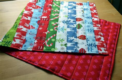 you have to see quick easy binding less table runner by