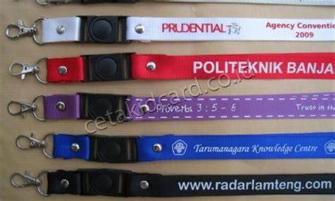 Tali Id Card 40cm 2 jual tali idcard lanyard harga murah cetak id card