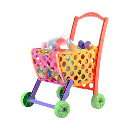 Troli Mainan jual troli belanja sayur dan buah mainan anak