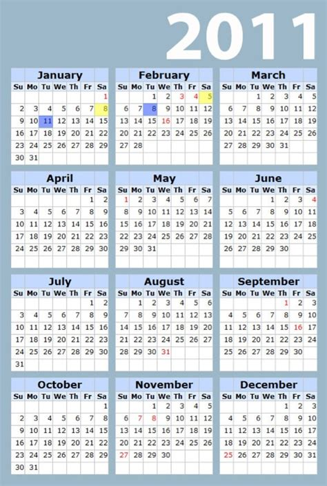 printable yearly calendars 2011 2011 calendar printable yearly homecoming hairstyles