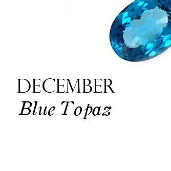 blue topaz birthstone for december