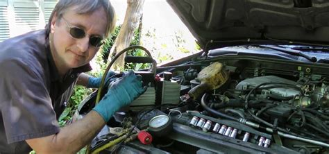 repair air conditioning leaks   car auto