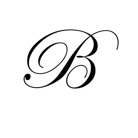 tattoo fonts b letter b pictures search design
