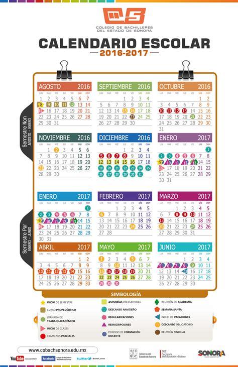 Calendario Sep 2015 Y 2016 Calendario Escolar 2016 2017