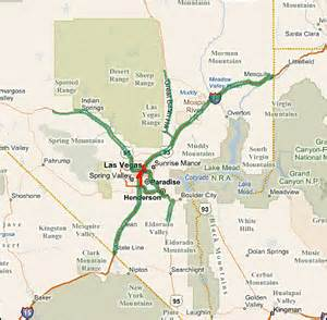 Las Vegas Traffic Map by Highway Evacuations In Selected Metropolitan Areas