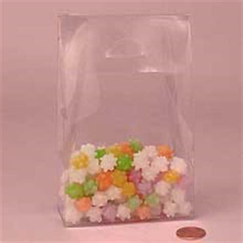 Plastik Goodie Bag Clear Plastic Boxes Clear Favor Boxes Paper Mart